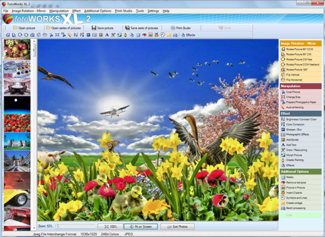 Free photo editing software - Open Culture