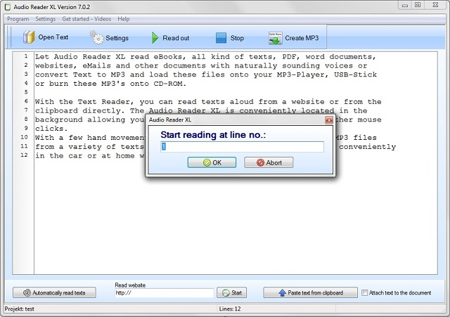 Text to Speech Reader with Natural Sounding Voices as a Free