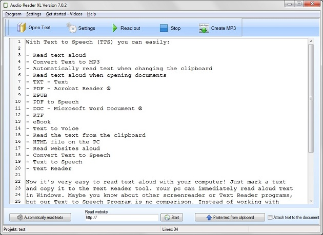 Text to Speech Software free download  The new innovative Text to
