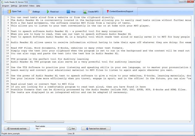 Text to Speech Software free download. The new innovative Text to