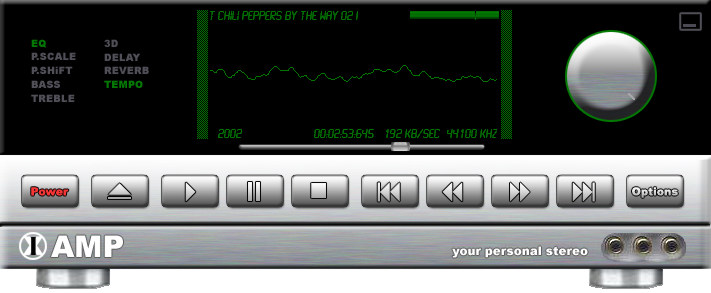 1X-AMP Virtual Audio Player
