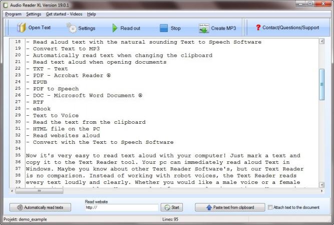text to speech software