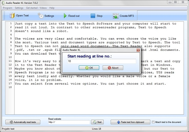 text to speech reader software free download